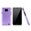 Nillkin Super Matte Hard Cases Skin Covers for Samsung i9100 i9108 i9188 Galasy S2 - Purple