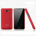 Nillkin Super Matte Hard Cases Skin Covers for Samsung i9103 Galaxy R - Red