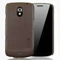 Nillkin Super Matte Hard Cases Skin Covers for Samsung i9250 GALAXY Nexus Prime i515 - Brown