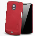 Nillkin Super Matte Hard Cases Skin Covers for Samsung i9250 GALAXY Nexus Prime i515 - Red