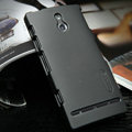 Nillkin Super Matte Hard Cases Skin Covers for Sony Ericsson LT22i Xperia P - Black
