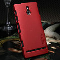Nillkin Super Matte Hard Cases Skin Covers for Sony Ericsson LT22i Xperia P - Red