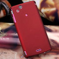 Nillkin Super Matte Hard Cases Skin Covers for Sony Ericsson Xperia Arc X12 - Red