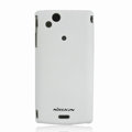 Nillkin Super Matte Hard Cases Skin Covers for Sony Ericsson Xperia Arc X12 - White