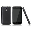 Nillkin Super Matte Rainbow Cases Skin Covers for Samsung E110S Galaxy SII LTE - Black