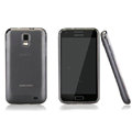 Nillkin Super Matte Rainbow Cases Skin Covers for Samsung E110S Galaxy SII LTE - Gray