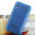 Nillkin Super Matte Rainbow Cases Skin Covers for Samsung Galaxy Ace S5830 i579 - Blue