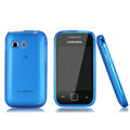 Nillkin Super Matte Rainbow Cases Skin Covers for Samsung S5360 Galaxy Y I509 - Blue