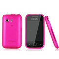 Nillkin Super Matte Rainbow Cases Skin Covers for Samsung S5360 Galaxy Y I509 - Pink