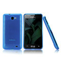 Nillkin Super Matte Rainbow Cases Skin Covers for Samsung i9103 Galaxy R - Blue