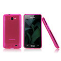 Nillkin Super Matte Rainbow Cases Skin Covers for Samsung i9103 Galaxy R - Pink