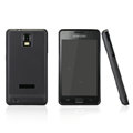 Nillkin Super Matte Rainbow Cases Skin Covers for Samsung i919 GALAXY SII - Black