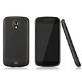 Nillkin Super Matte Rainbow Cases Skin Covers for Samsung i9250 GALAXY Nexus Prime i515 - Black