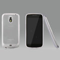 Nillkin Super Matte Rainbow Cases Skin Covers for Samsung i9250 GALAXY Nexus Prime i515 - White