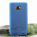 Nillkin Super Matte Rainbow Soft Cases Covers for Samsung i9100 i9108 i9188 Galasy S2 - Blue