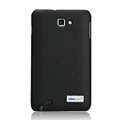 Nillkin leather Cases Holster Covers for Samsung Galaxy Note i9220 N7000 i717 - Black