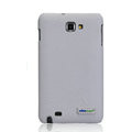 Nillkin leather Cases Holster Covers for Samsung Galaxy Note i9220 N7000 i717 - White