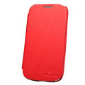 Nillkin leather Cases Holster Covers for Samsung Galaxy SIII S3 I9300 I9308 - Red