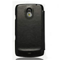 Nillkin leather Cases Holster Covers for Samsung i9250 GALAXY Nexus Prime i515 - Black