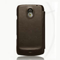 Nillkin leather Cases Holster Covers for Samsung i9250 GALAXY Nexus Prime i515 - Brown