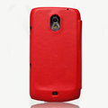 Nillkin leather Cases Holster Covers for Samsung i9250 GALAXY Nexus Prime i515 - Red