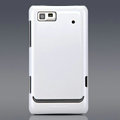 Nillkin Colorful Hard Cases Skin Covers for Motorola XT615 - White