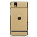 Nillkin Colorful Hard Cases Skin Covers for Motorola XT928 - Golden