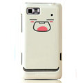Nillkin Mood Hard Cases Skin Covers for Motorola XT615 - White