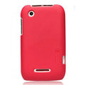 Nillkin Super Matte Hard Cases Skin Covers for Motorola XT550 - Red
