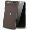 Nillkin Super Matte Hard Cases Skin Covers for Motorola XT910 RAZR - Brown