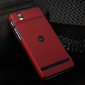 Nillkin Super Matte Hard Cases Skin Covers for Motorola XT928 - Red