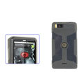 Nillkin Transparent Rainbow Soft Cases Covers for Motorola MB810 Droid X - Black