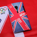 Nillkin 2012 Hello London Olympic Games Hard Cases Skin Covers for Sony Ericsson LT28i Xperia ion - Red