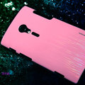 Nillkin Dynamic Color Hard Cases Skin Covers for Sony Ericsson LT28i Xperia ion - Pink