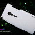 Nillkin Dynamic Color Hard Cases Skin Covers for Sony Ericsson LT28i Xperia ion - White