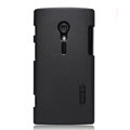 Nillkin Super Matte Hard Cases Skin Covers for Sony Ericsson LT28i Xperia ion - Black
