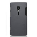 Nillkin Super Matte Hard Cases Skin Covers for Sony Ericsson LT28i Xperia ion - Gray