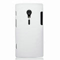 Nillkin Super Matte Hard Cases Skin Covers for Sony Ericsson LT28i Xperia ion - White