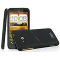IMAK Cowboy Shell Quicksand Hard Cases Covers for HTC X720d One XC - Black