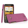 IMAK Cowboy Shell Quicksand Hard Cases Covers for HTC X720d One XC - Purple