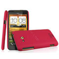 IMAK Cowboy Shell Quicksand Hard Cases Covers for HTC X720d One XC - Red