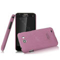 IMAK Cowboy Shell Quicksand Hard Cases Covers for Samsung I9050 - Purple