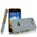 IMAK Cowboy Shell Quicksand Hard Cases Covers for Samsung i8530 Galaxy Beam - Gray