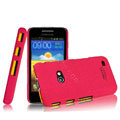 IMAK Cowboy Shell Quicksand Hard Cases Covers for Samsung i8530 Galaxy Beam - Rose