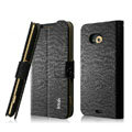 IMAK Slim leather Cases Luxury Holster Covers for HTC X720d One XC - Black