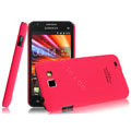 IMAK Ultrathin Matte Color Covers Hard Cases for Samsung I9050 - Rose
