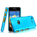 IMAK Ultrathin Matte Color Covers Hard Cases for Samsung i8530 Galaxy Beam - Blue