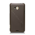 Nillkin Super Matte Hard Cases Skin Covers for HTC X720d One XC - Brown