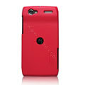 Nillkin Super Matte Hard Cases Skin Covers for Motorola MT887 RAZR V XT889 - Red