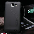 Nillkin Super Matte Hard Cases Skin Covers for Samsung I9050 - Black